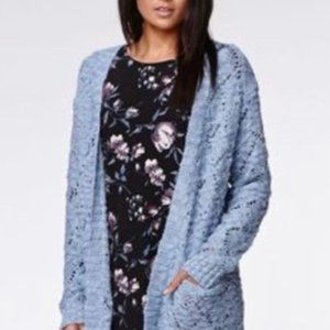 Kendall and Kylie Blue cardigan